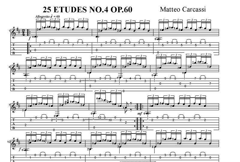 Etudes Op.60 25